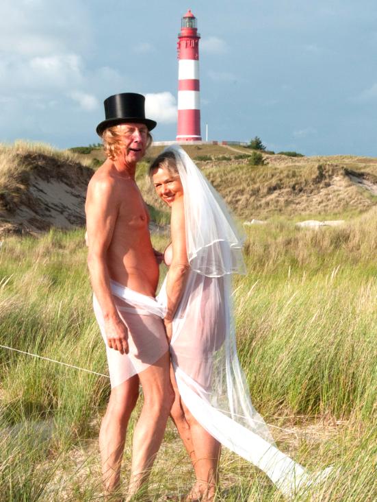 Heiraten kann man auf diesem tollen FKK Zeltplatz auch !!!